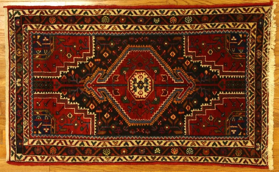 Semi-antique Persian Tribal Rug