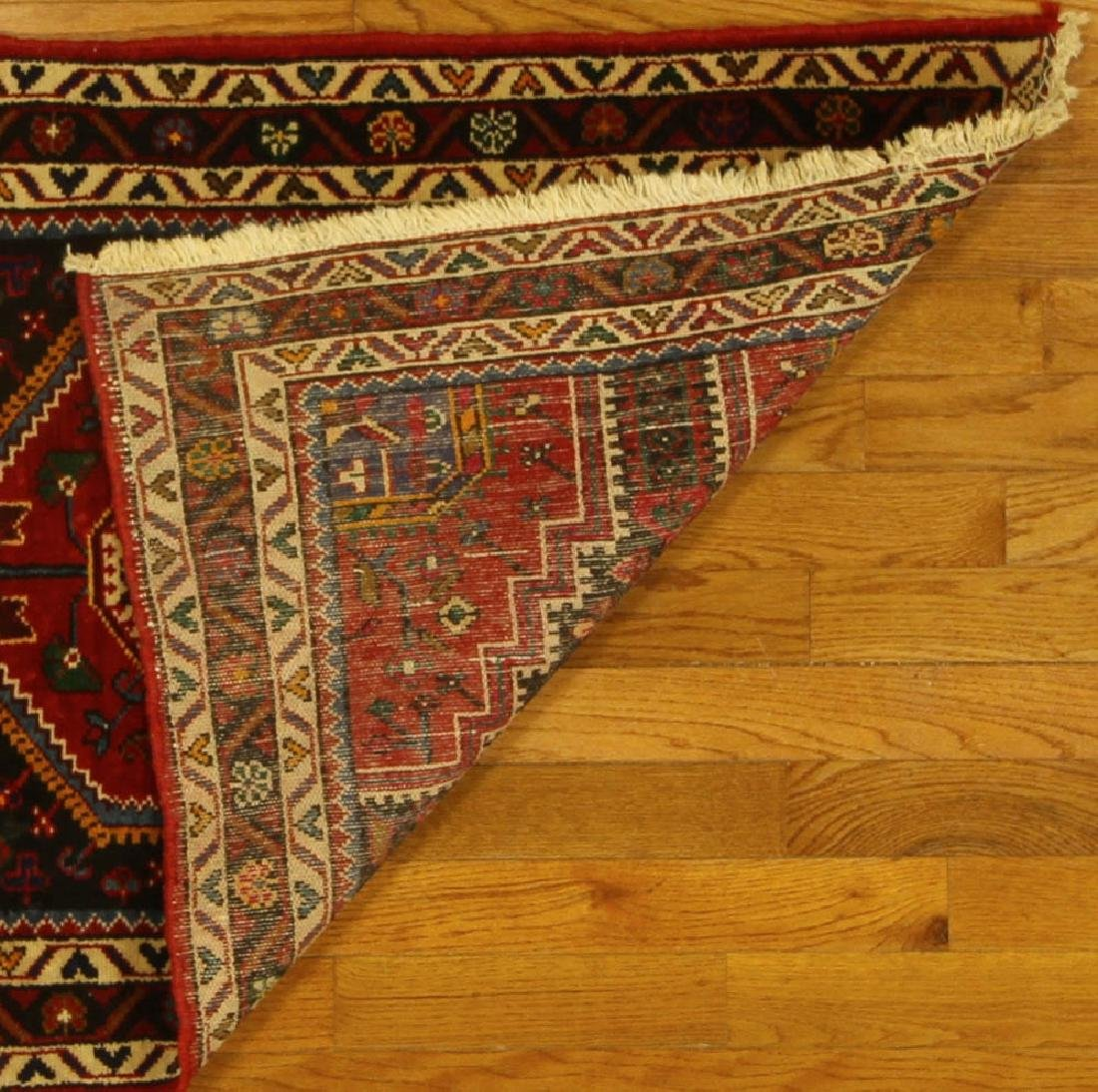 Semi-antique Persian Tribal Rug - 5
