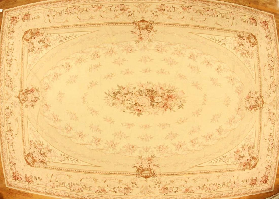 Fine Aubusson-style Palace Size Rug