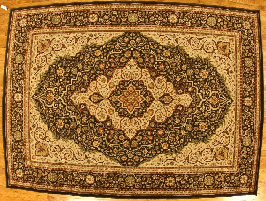 Sarouk-style Machine Made Rug