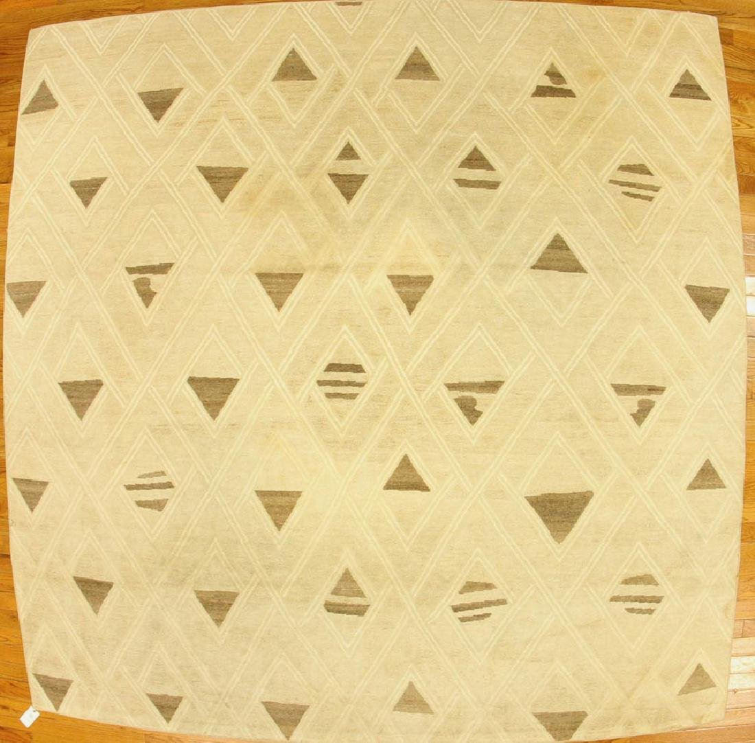 Nepali Designer Geometric Design Rug