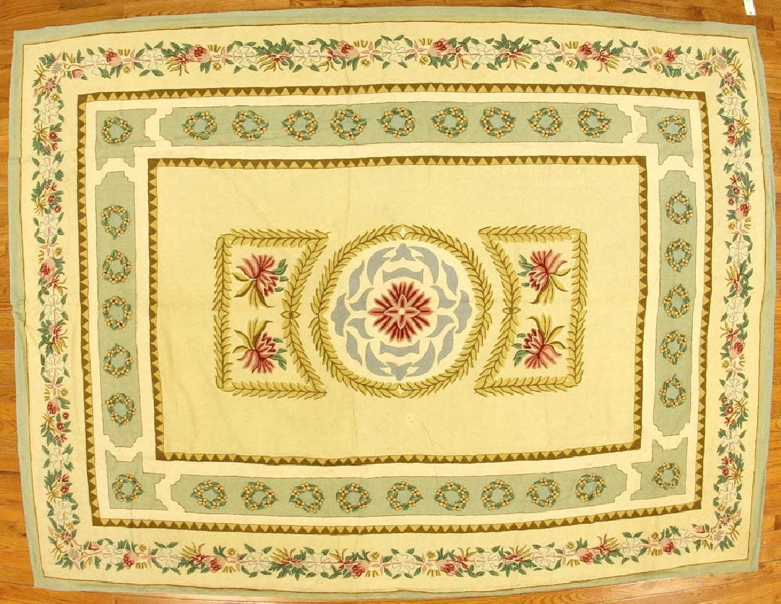 French Traditional Needlepoint Rug