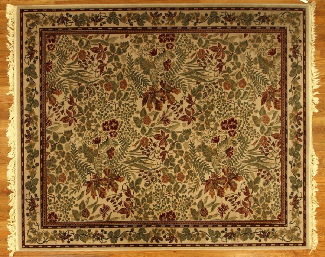 Indo-French Floral Rug
