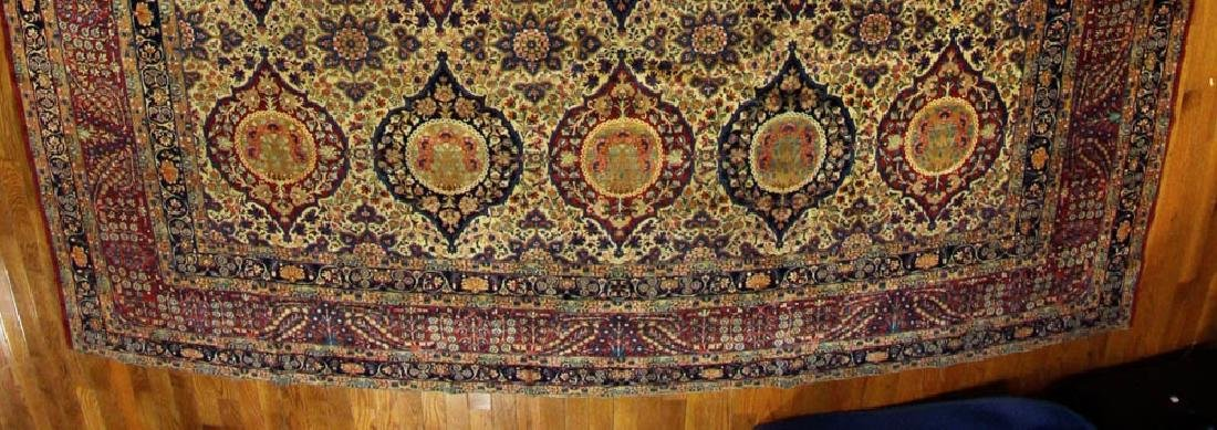 Antique Lavar Kerman Rug - 4