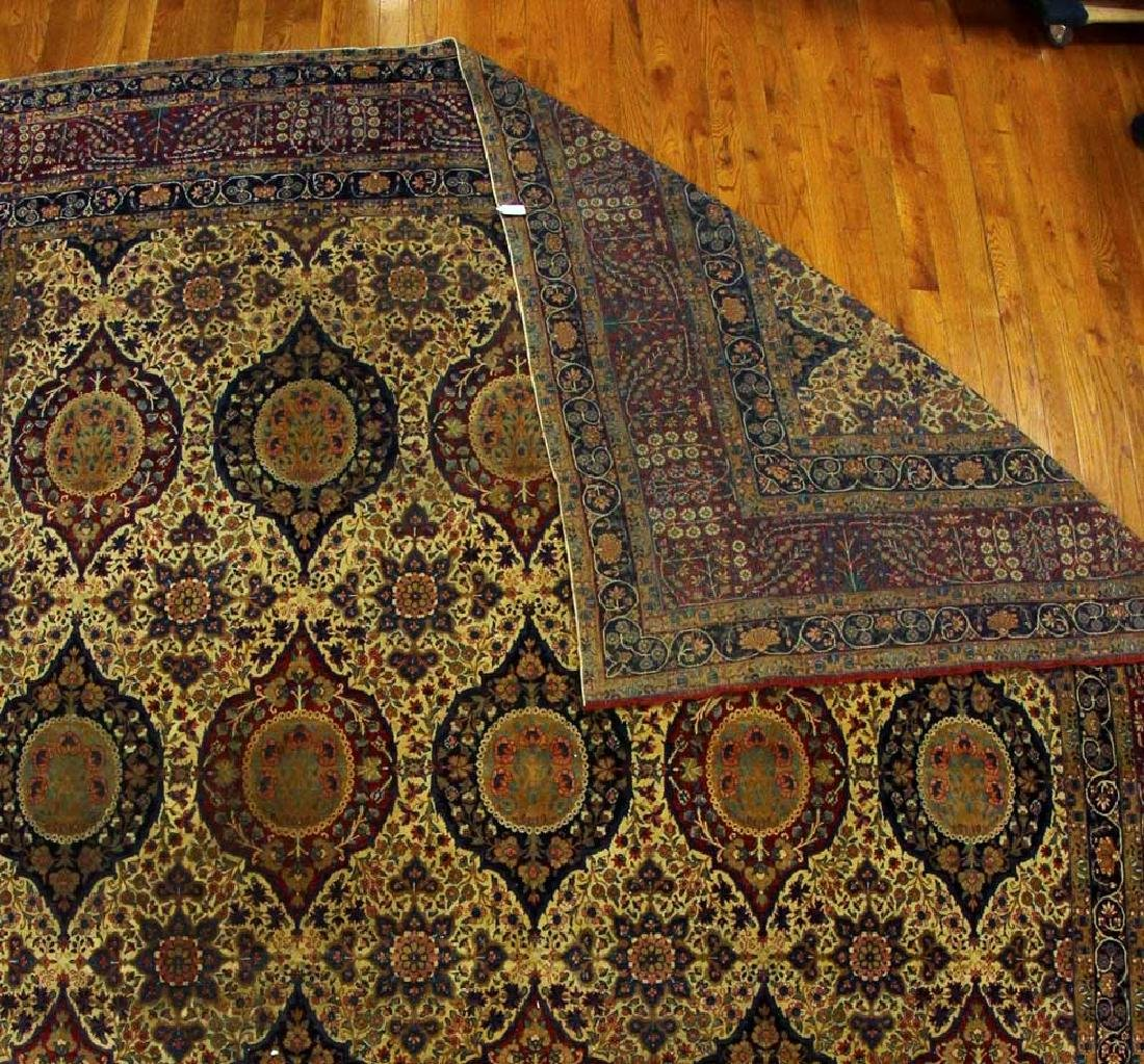 Antique Lavar Kerman Rug - 5