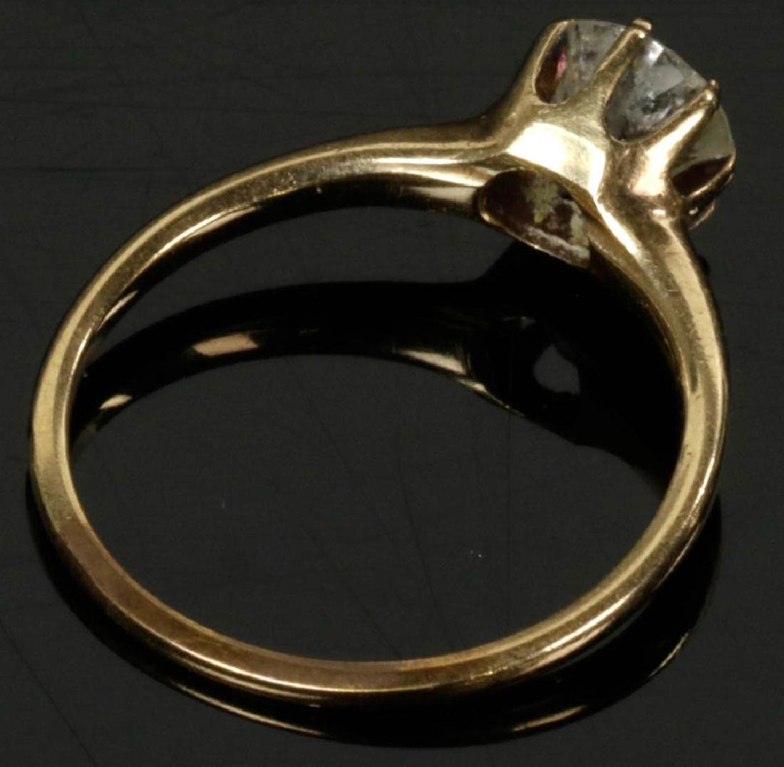 14k Gold Diamond Ring - 2