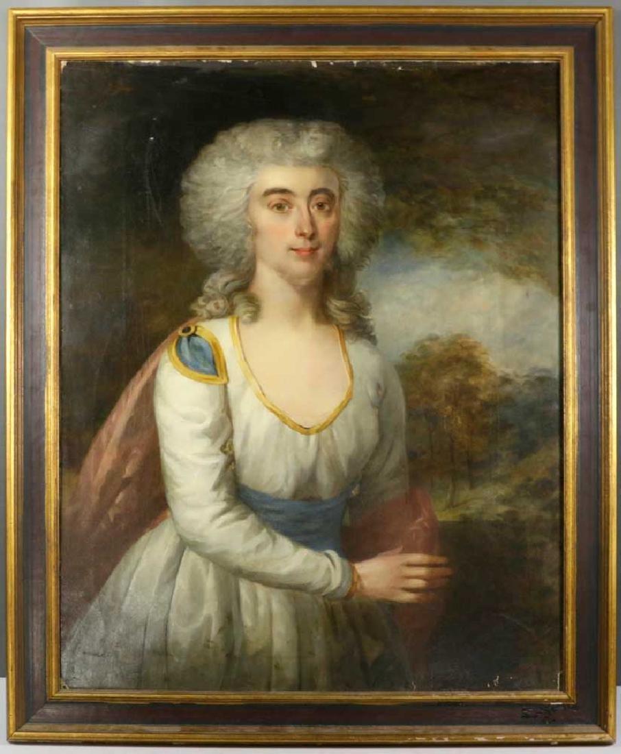 18/19th C. Continental School Oil on Canvas