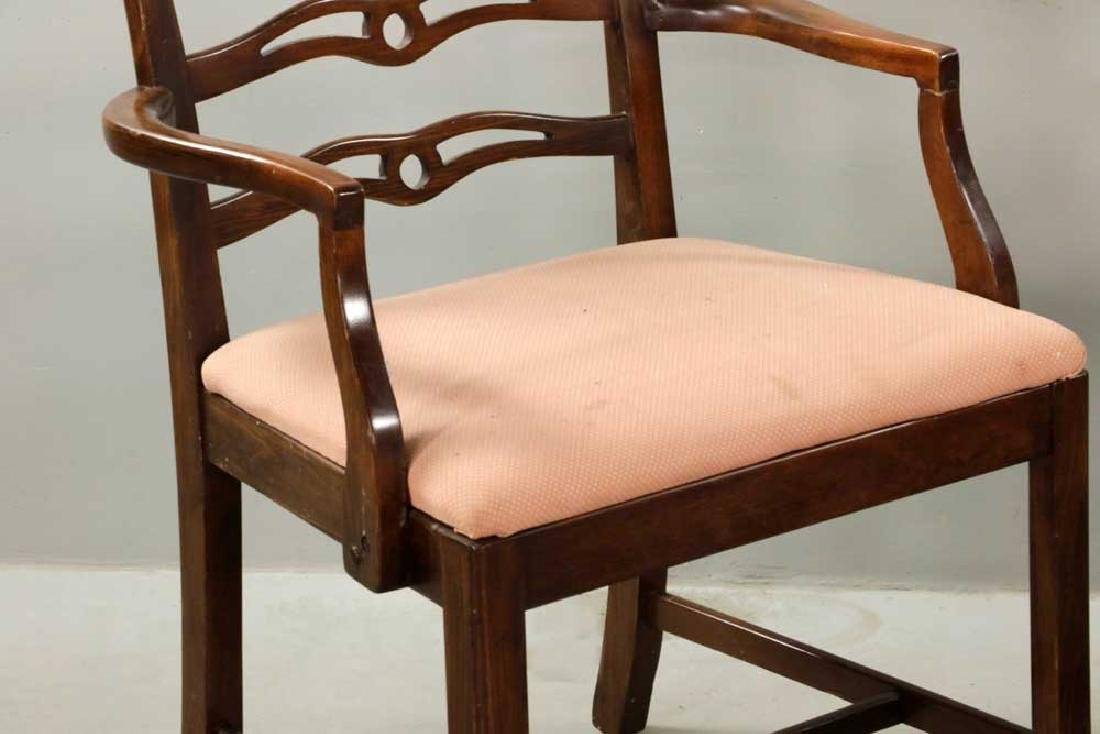 (12) Early 20th C. Chippendale-style Chairs - 5