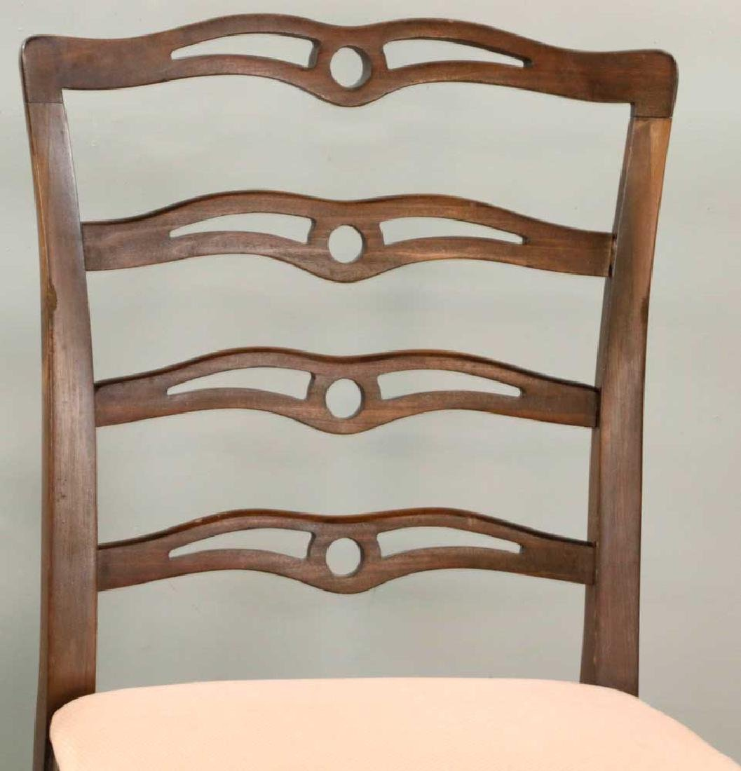 (12) Early 20th C. Chippendale-style Chairs - 6