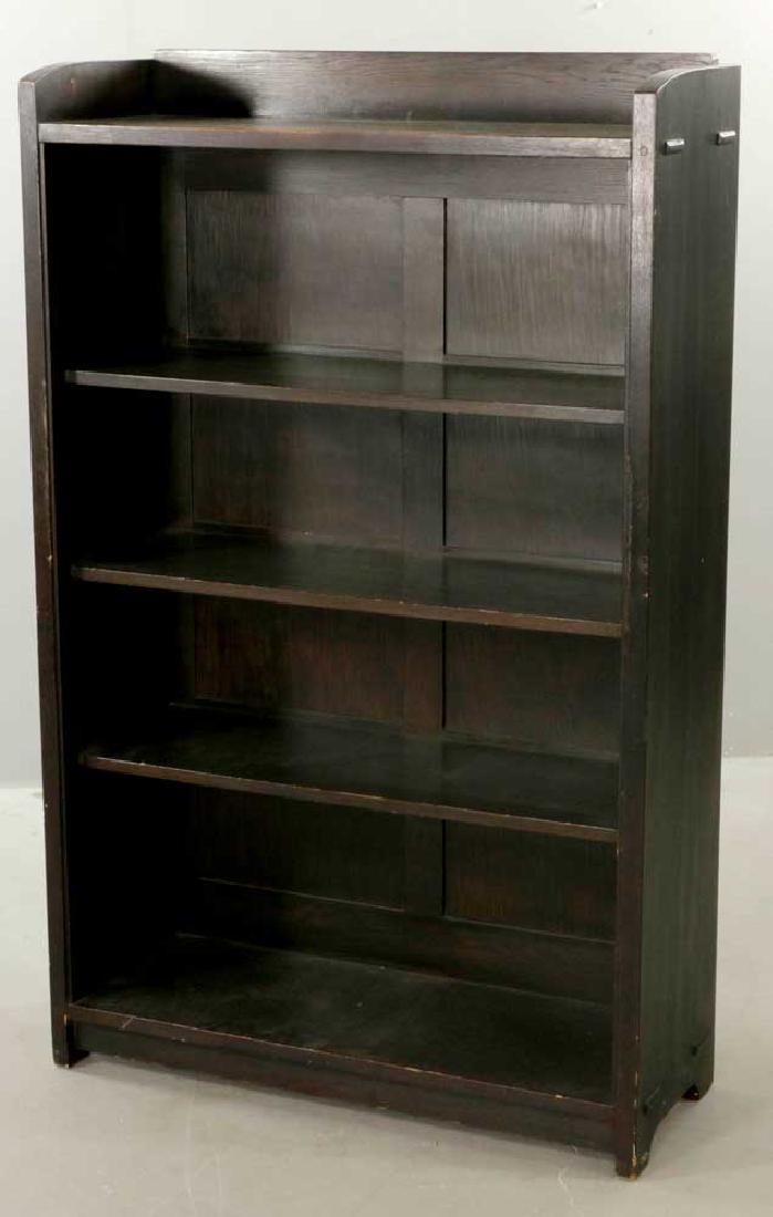 Gustav Stickley Open Bookcase, Labeled