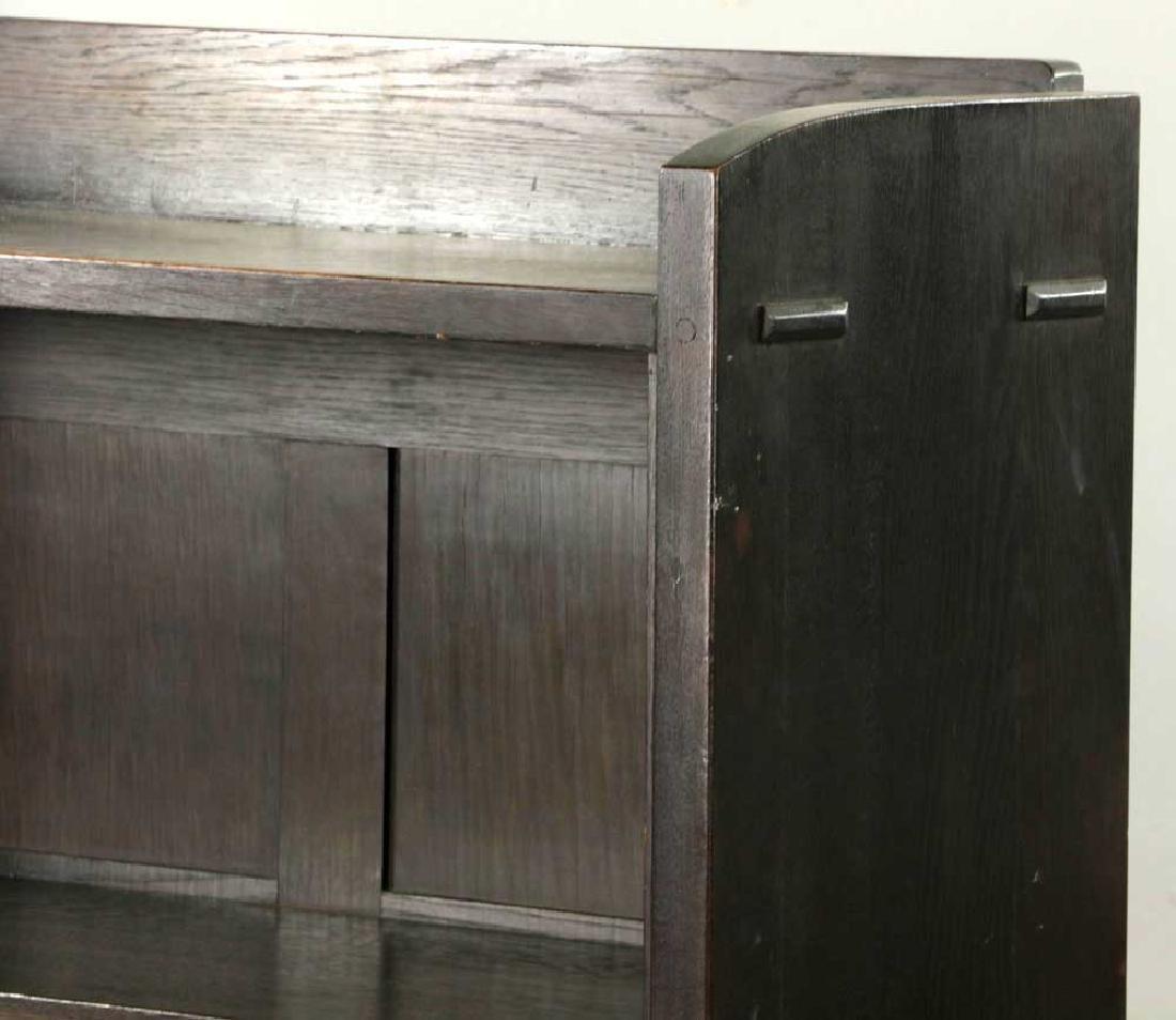 Gustav Stickley Open Bookcase, Labeled - 2