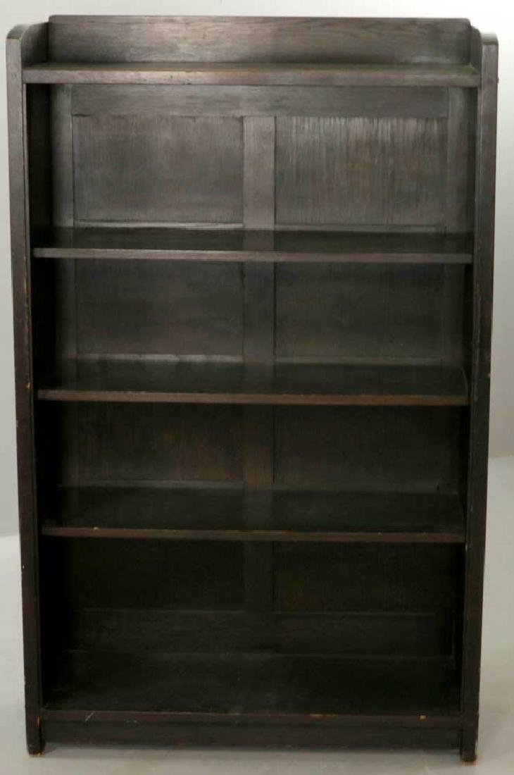 Gustav Stickley Open Bookcase, Labeled - 4