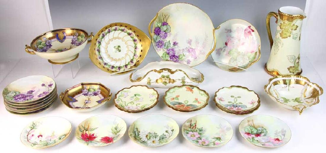 Lot of Limoges and Bavarian China