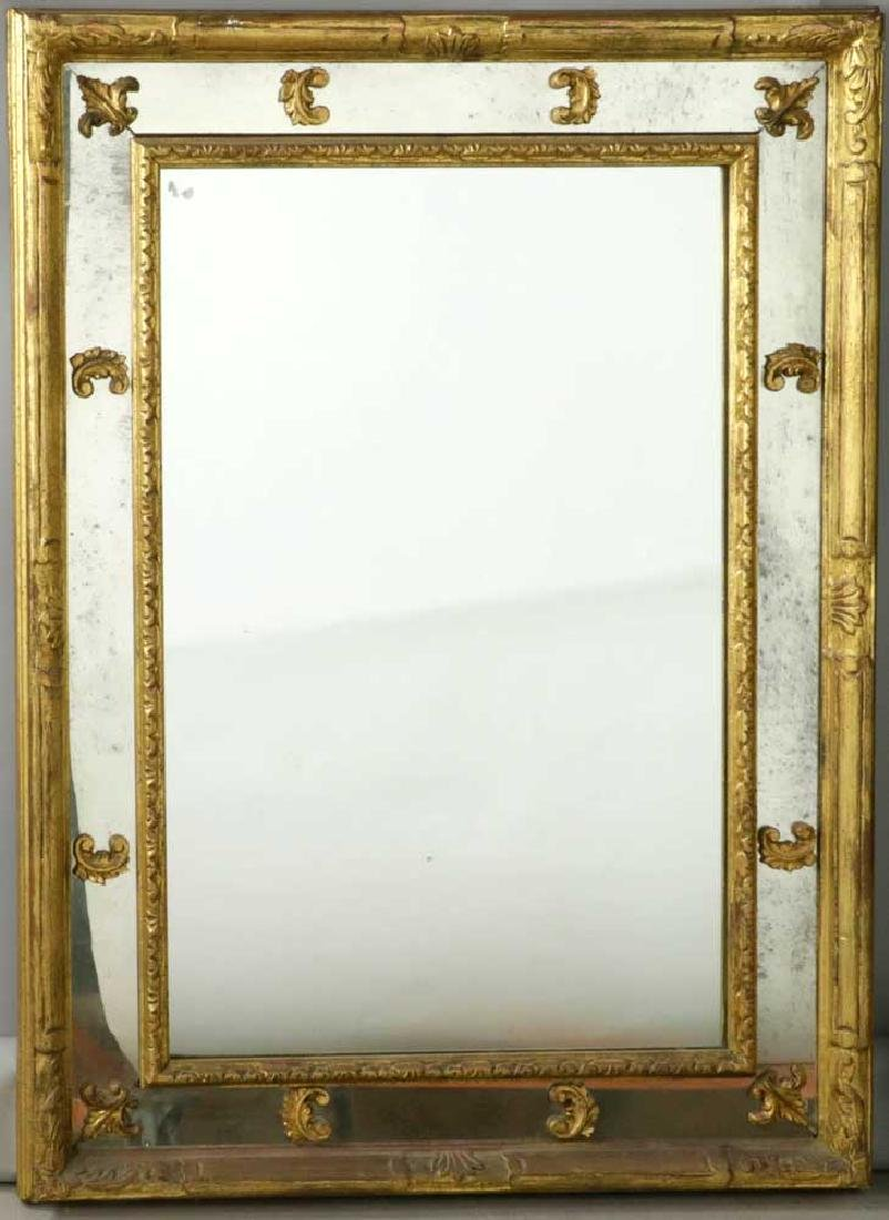 Venetian-style Carved Giltwood Mirror