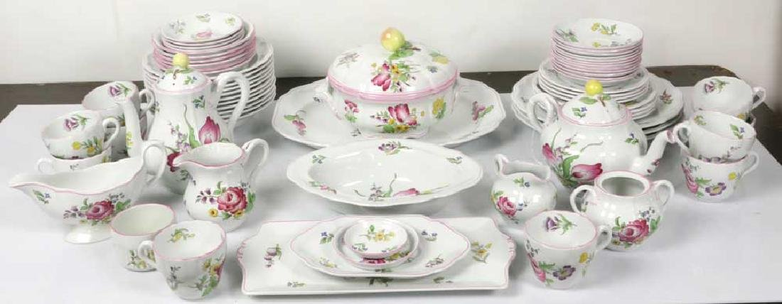 "Spode ""Marlborough Sprays"" Partial Dinner Set"