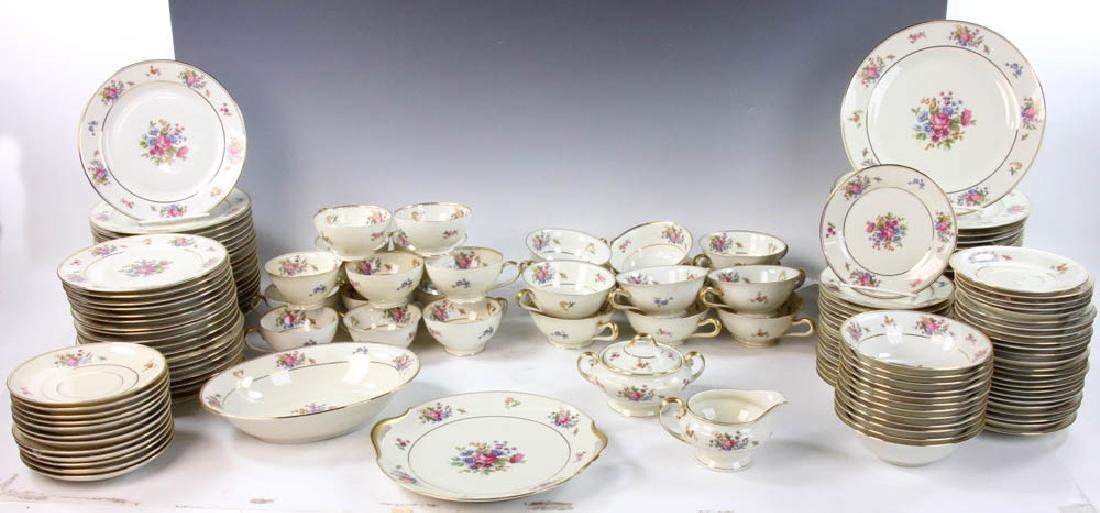Bavarian Tirschenreuth Porcelain Dinner Set
