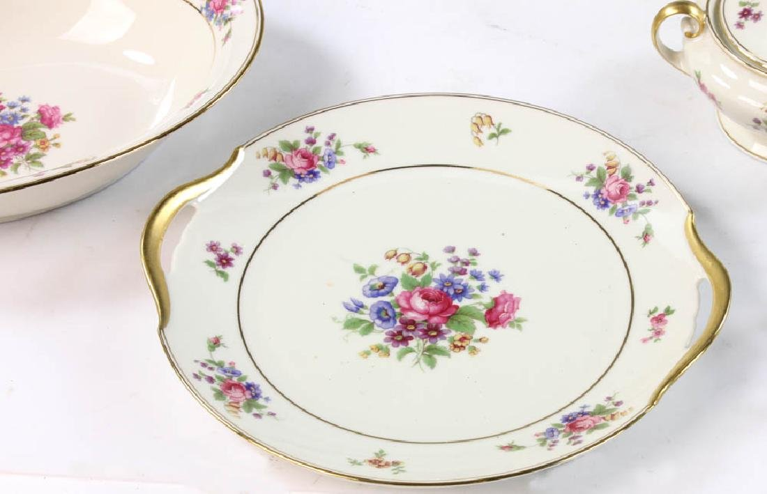 Bavarian Tirschenreuth Porcelain Dinner Set - 2