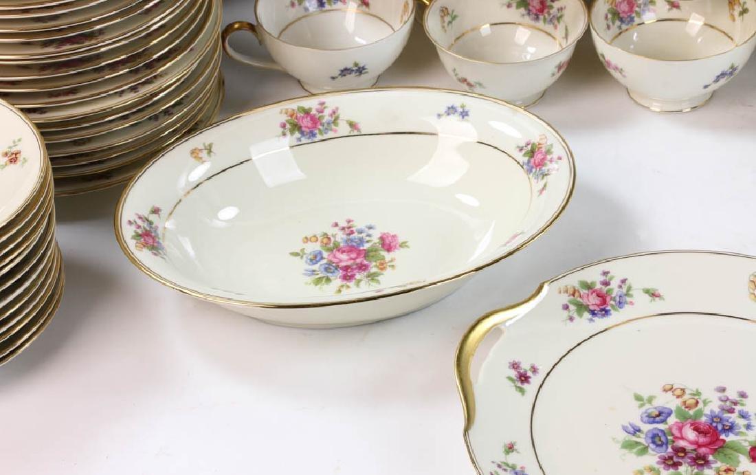 Bavarian Tirschenreuth Porcelain Dinner Set - 4