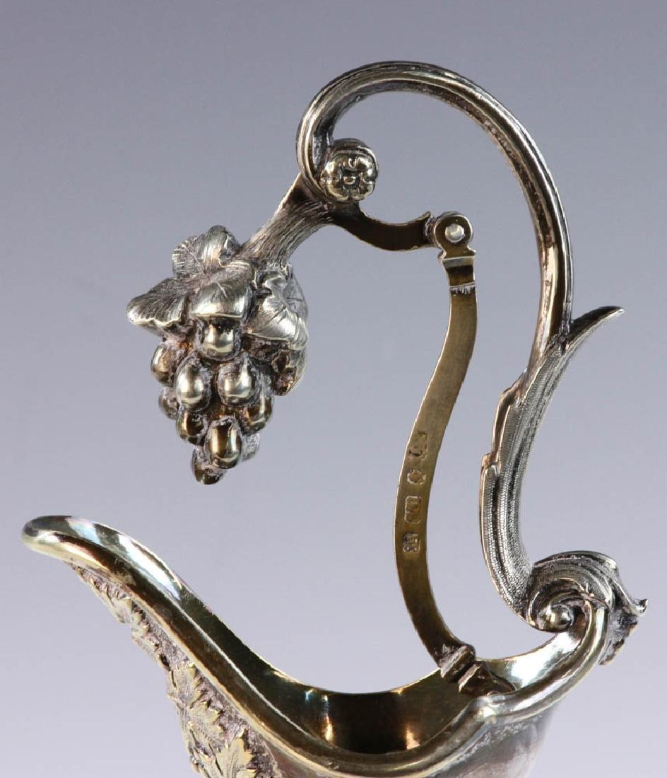 19th C. English Cut Glass Cruets - 7