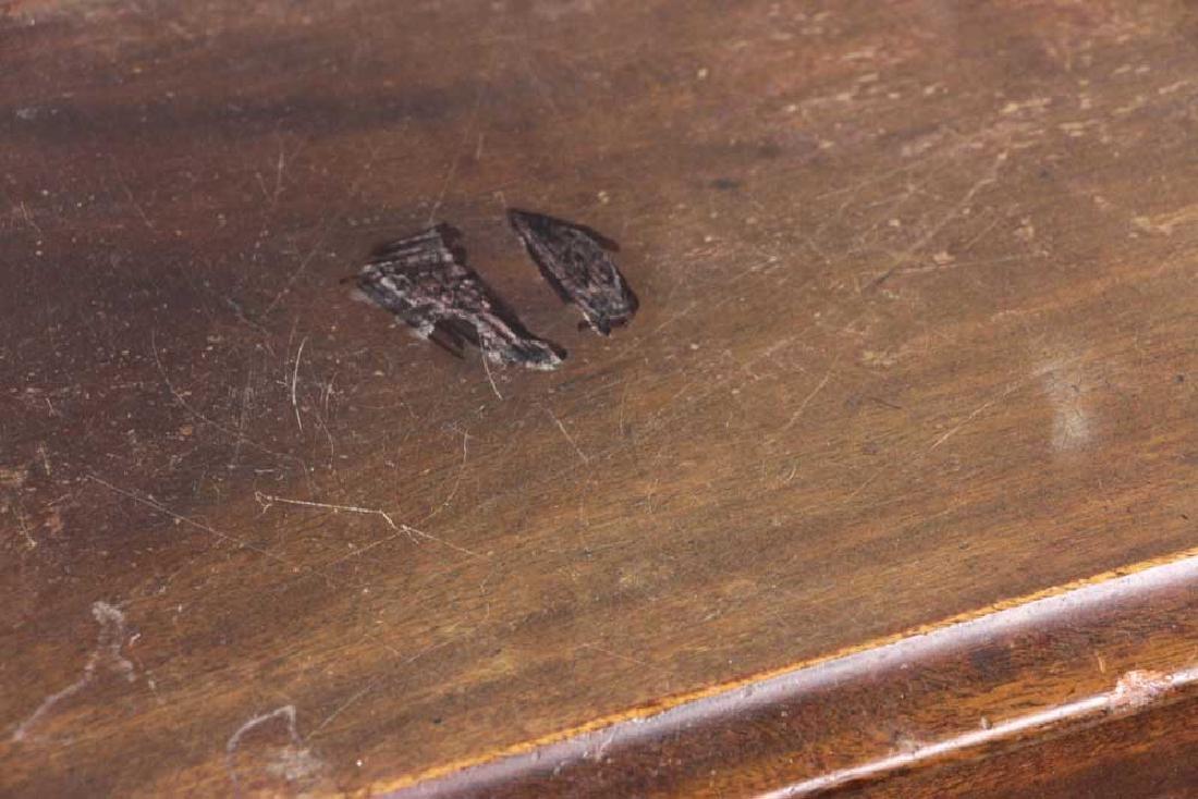 19th C. Chippendale Mahogany Lowboy - 9