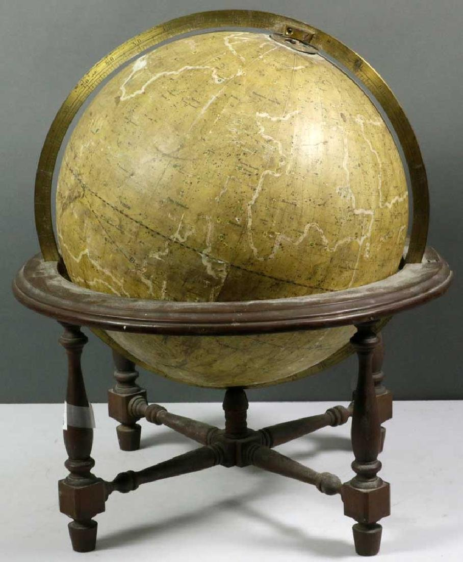 Antique 1867 Carl Adami Celestial Globe
