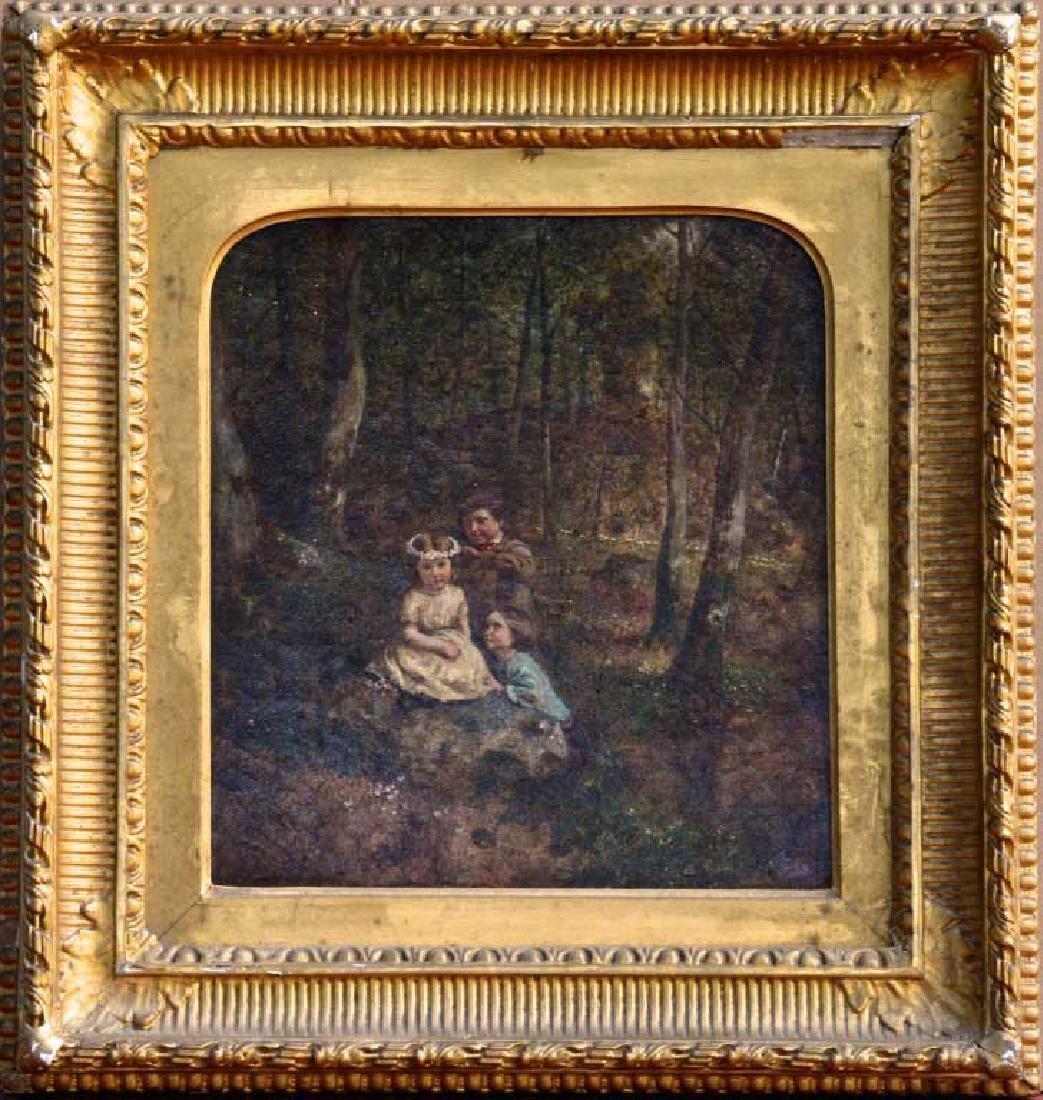 Attr to Wm. H. Hunt, Oil on Canvas