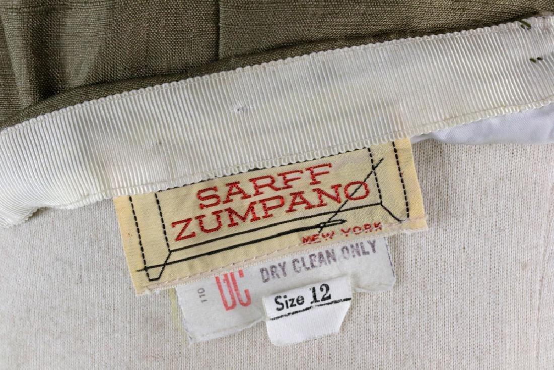 Sarff Zumpano Vintage Designer Evening Gown - 10