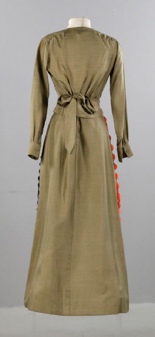 Sarff Zumpano Vintage Designer Evening Gown - 2