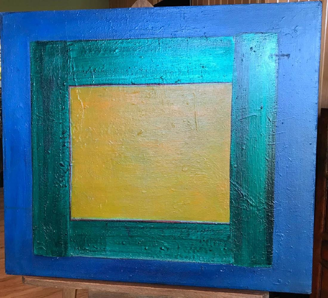 Harold Waldrum, Abstract, Oil on Canvas