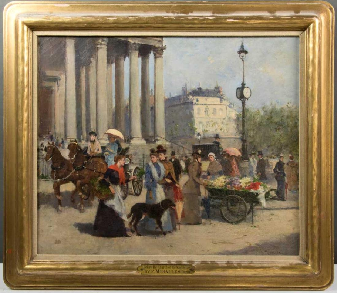 Francisco Miralles, La Madeleine, Oil on Canvas