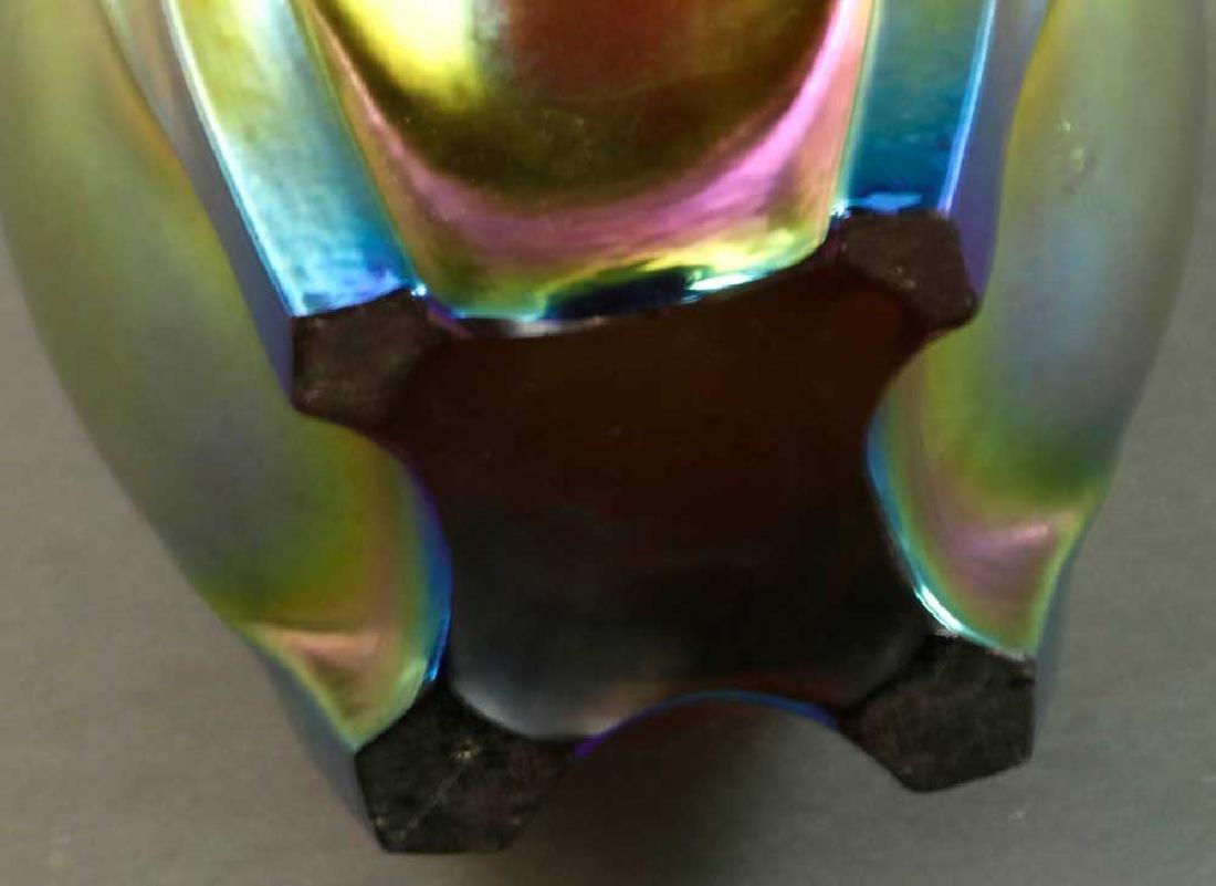 Steuben Gold Aurene Grotesque Vase - 4
