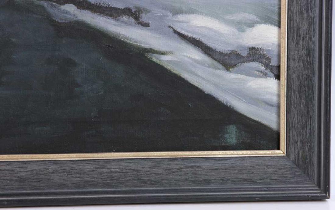 Ray Anthony Grathwol, Winter Landscape, Oil on Canvas - 3