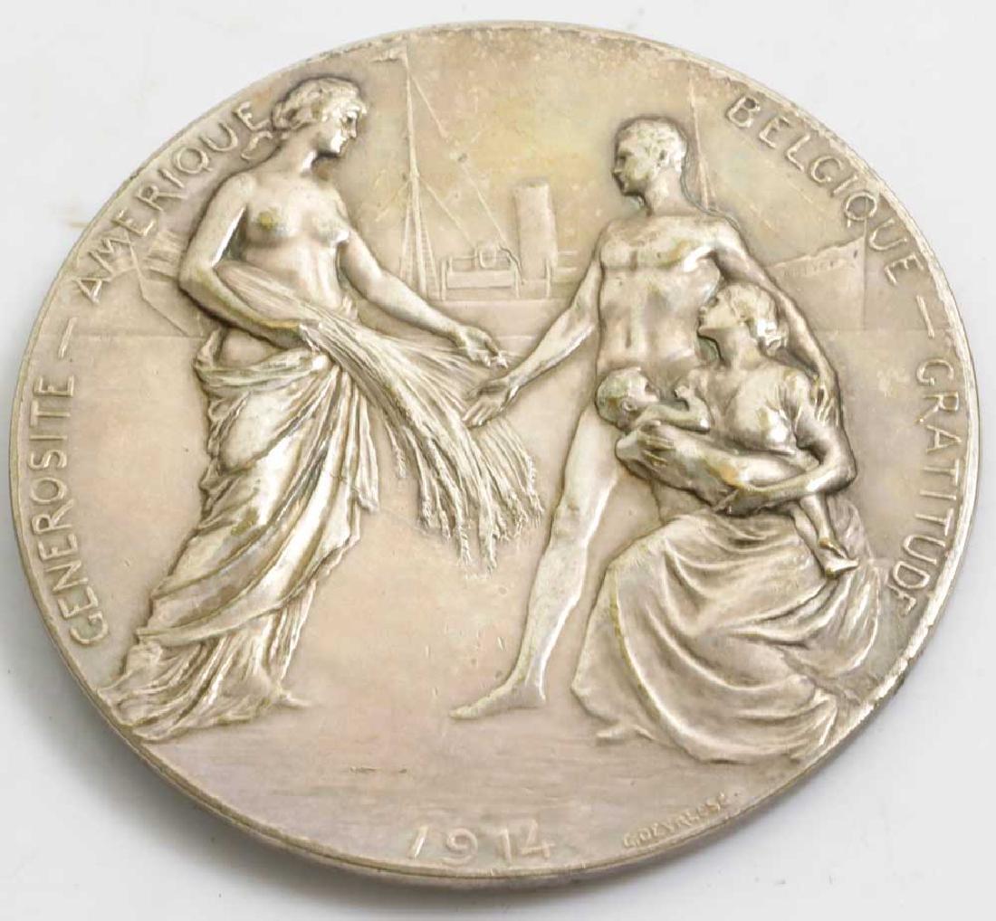 Albert and Elizabeth 1914 Medallion