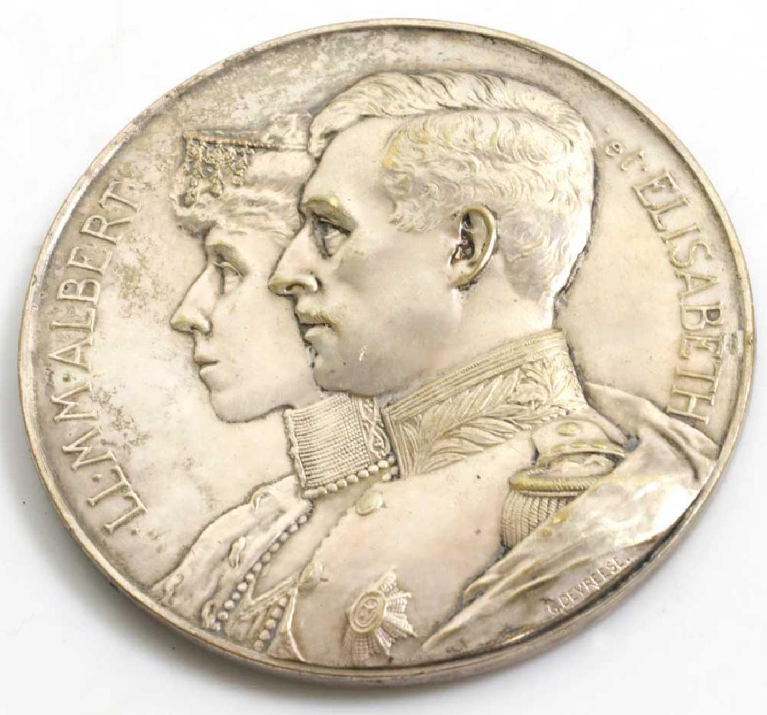 Albert and Elizabeth 1914 Medallion - 2