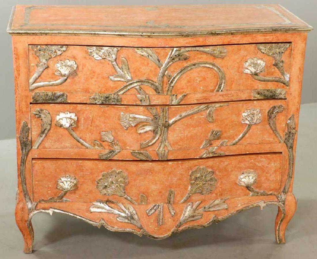 Antique Florentine 3-Drawer Chest