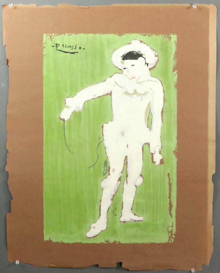 Picasso Colored Block Print
