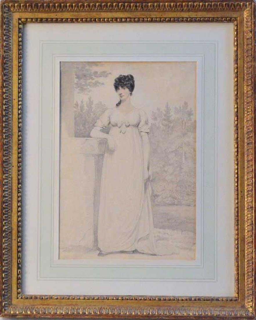 Eldridge Drawing of a Woman
