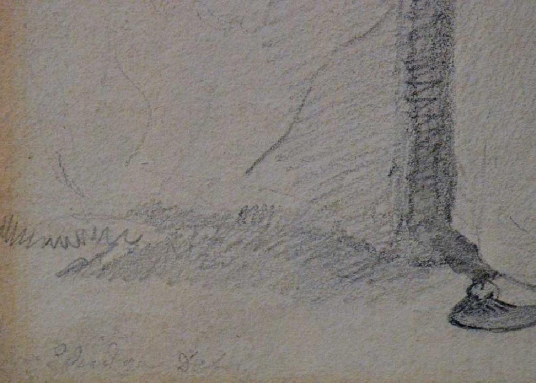 Eldridge Drawing of a Woman - 3
