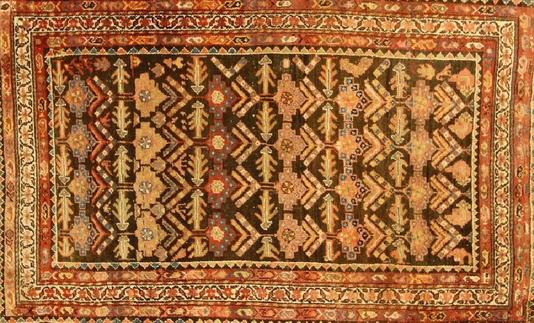 Antique Persian Hamadan Rug - 2