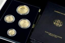 US Mint American Eagles Gold Proof Set