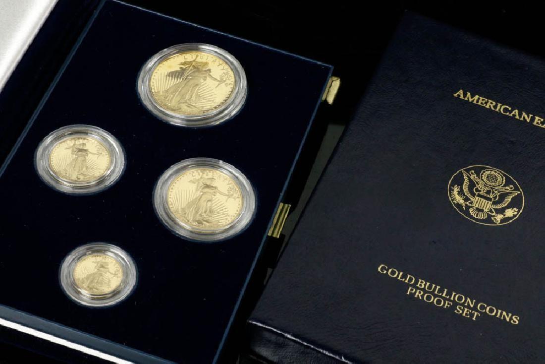 US Mint American Eagles Gold Proof Set