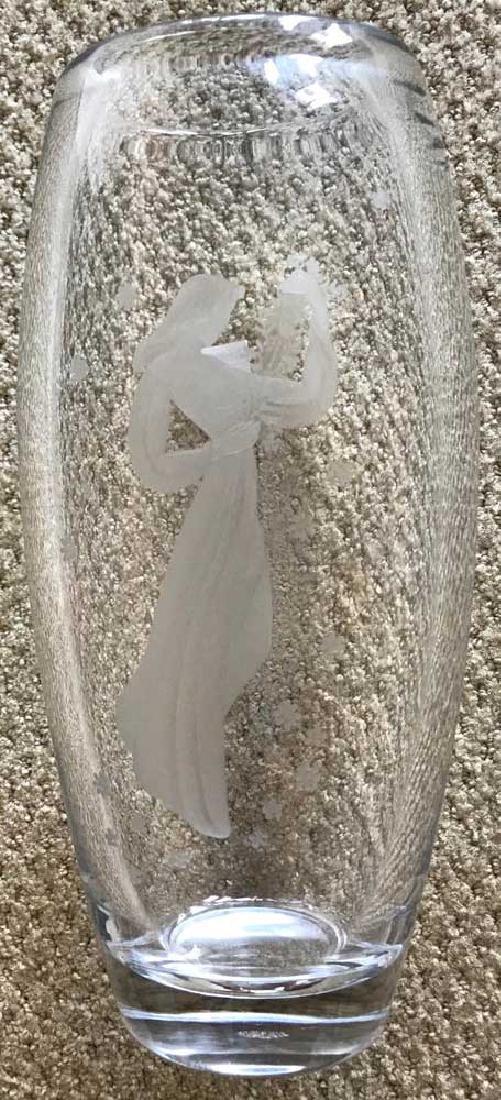 Orrefors Crystal Vintage Vase