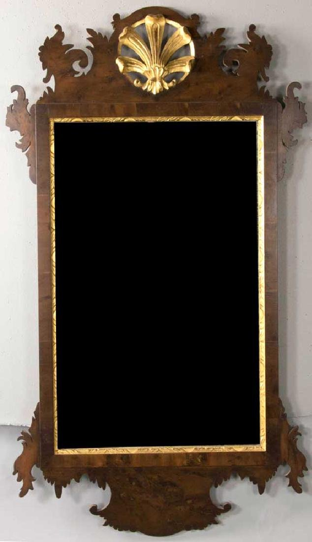 Fine Antique Chippendale Mahogany Mirror