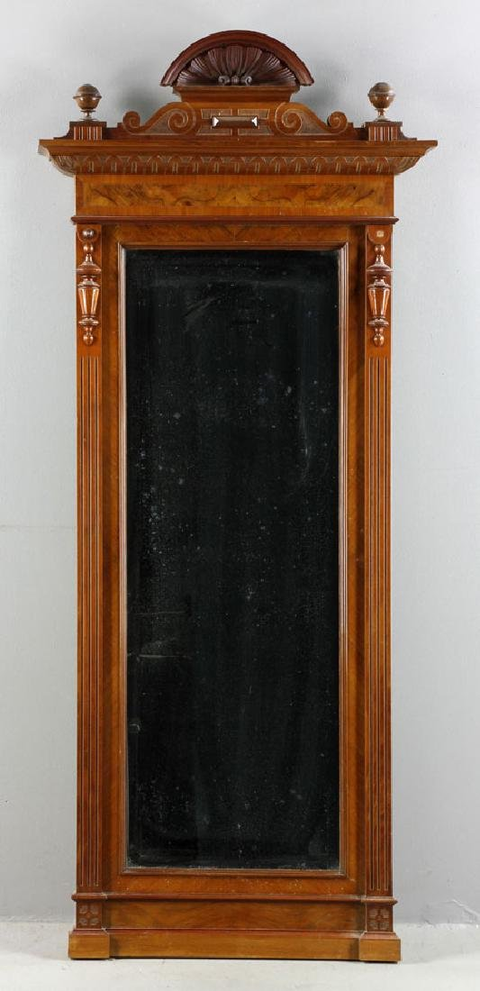 Danish Carved Mirror