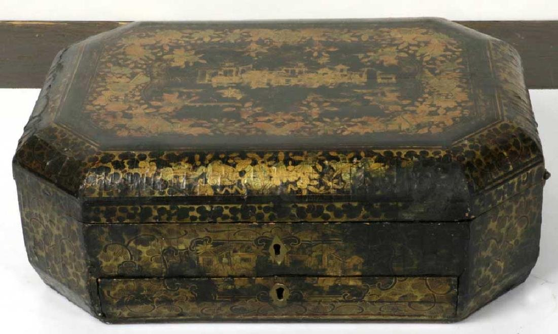 Early 19th C. Chinese Export Sewing Box