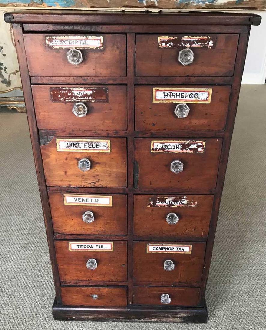 Old Drug Store Cabinet