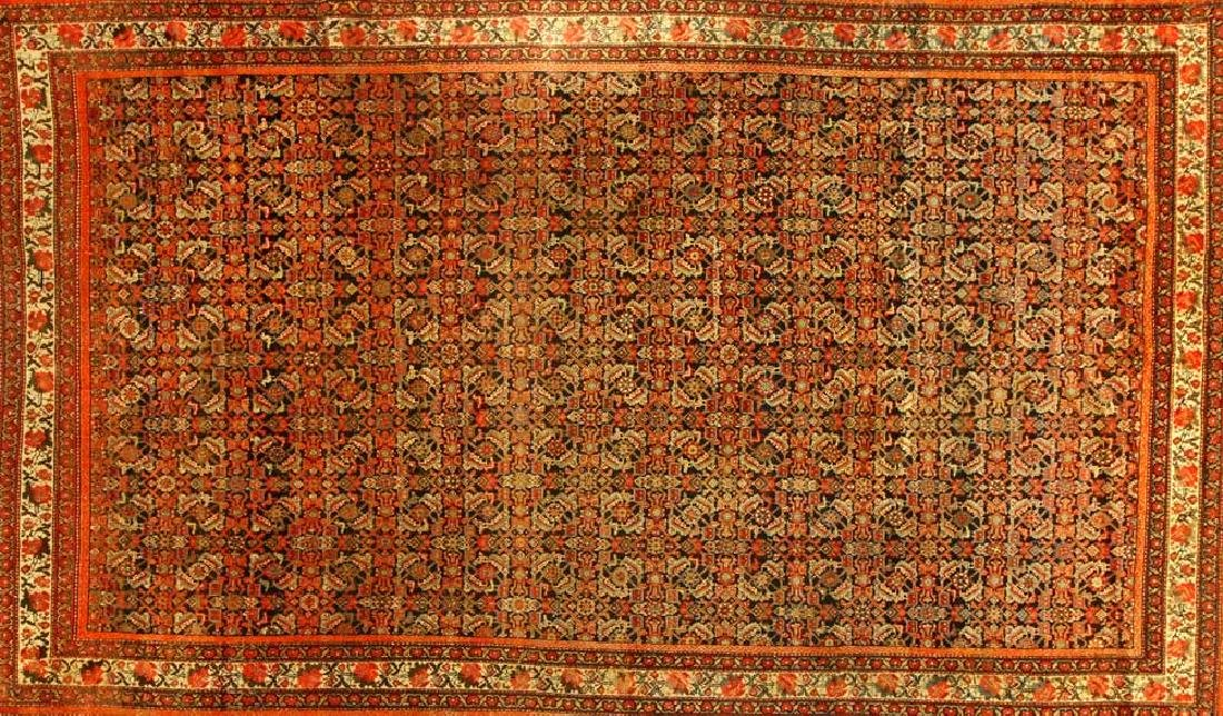 Antique Persian Malayer Rug - 2