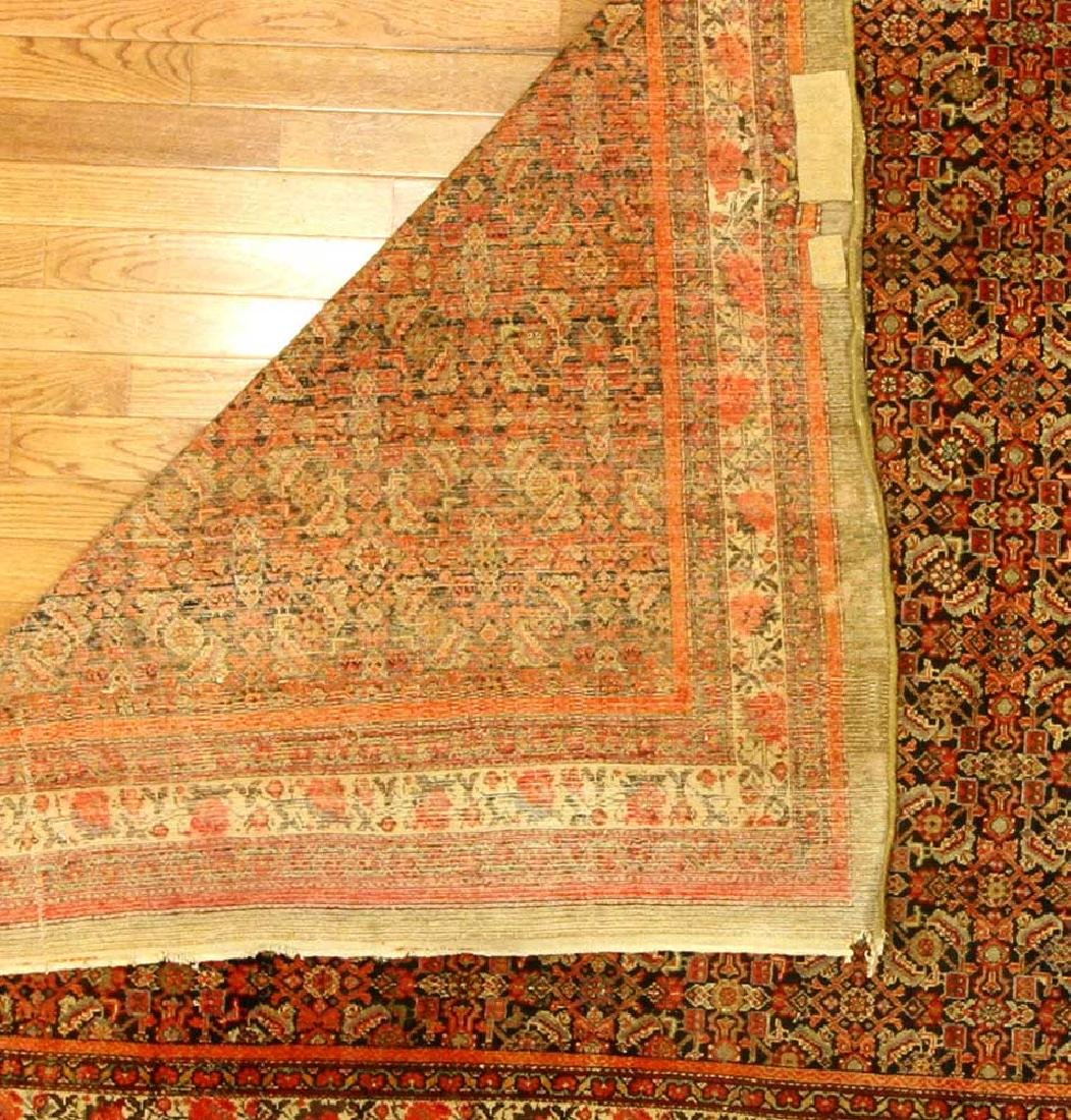 Antique Persian Malayer Rug - 5