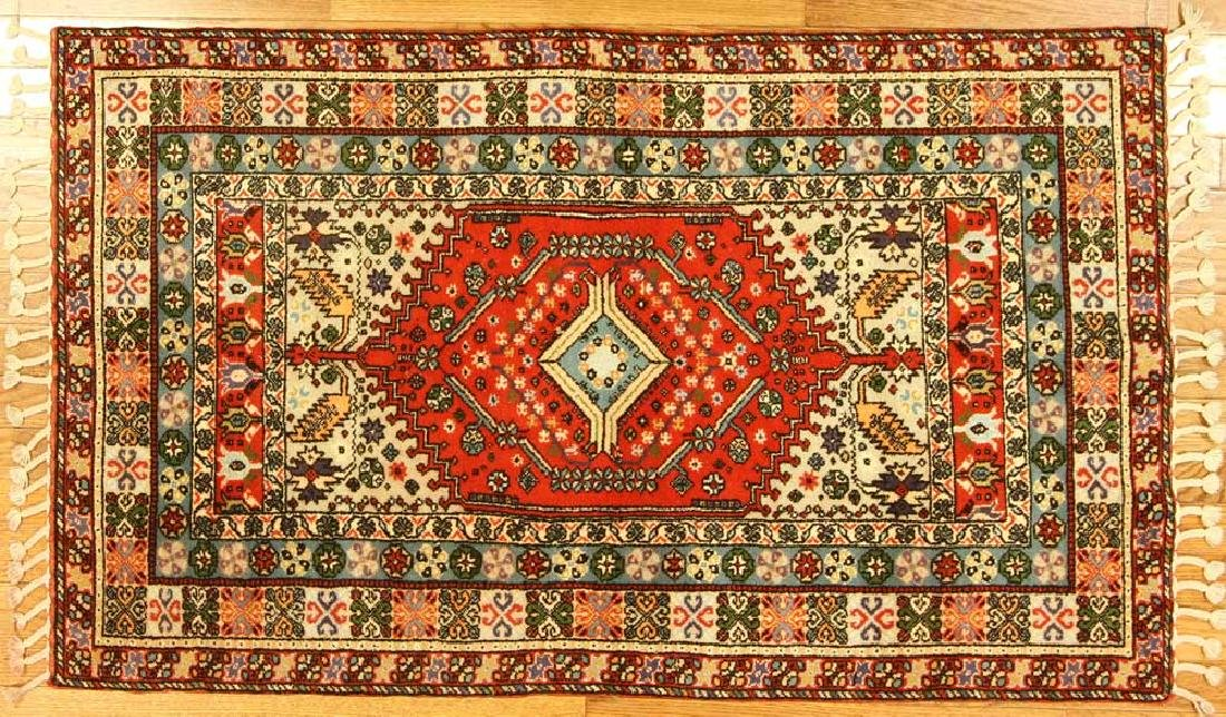 Semi-antique Persian Tabriz Rug