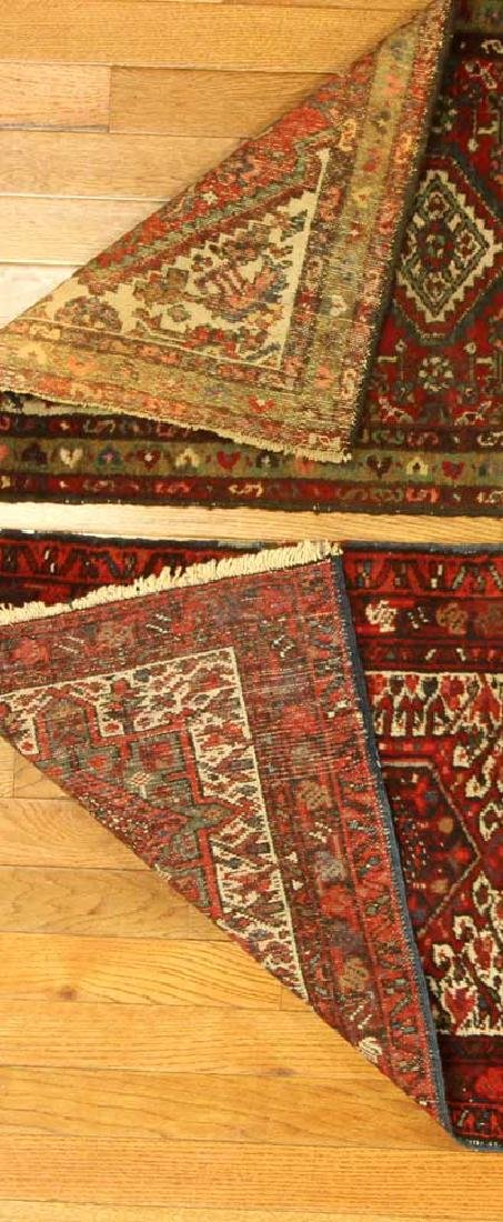 Two Semi-antique Persian Hamadan Rugs - 4